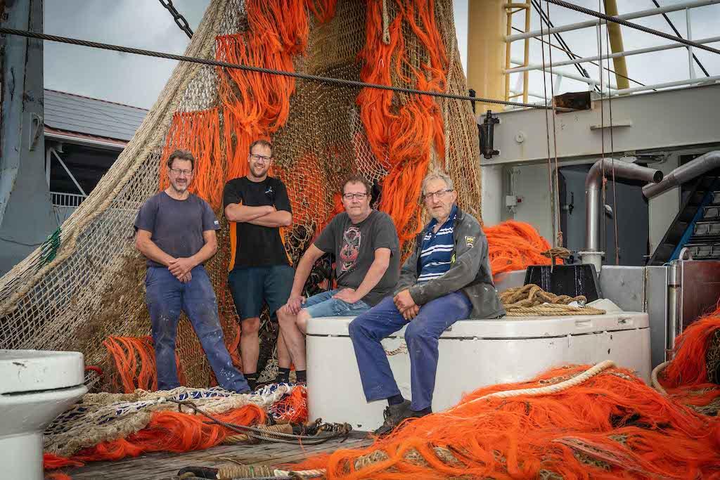Vijfde generatie vissers familie Krijnen